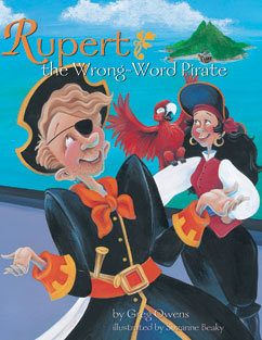 Cover for Rupert, the Wrong-Word Pirate