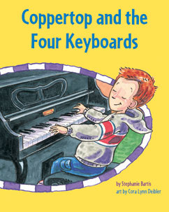 Cover for Coppertop and the Four Keyboards