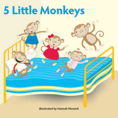 Cover for Five Little Monkeys