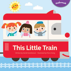 Cover for This Little Train