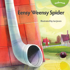 Cover for Eensy Weensy Spider