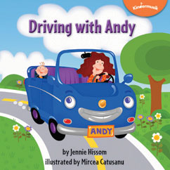 Cover for Driving with Andy