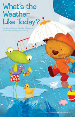 Cover for What's the Weather Like Today?