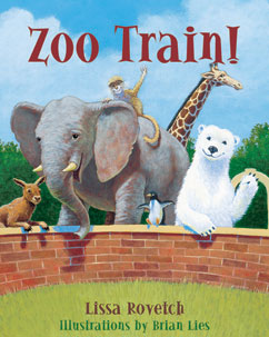 Cover for Zoo Train