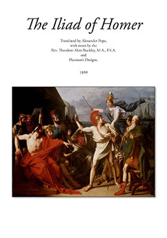 Cover for The Iliad of Homer