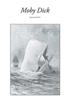Cover for Moby Dick
