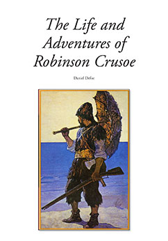 Cover for The Life and Adventures of Robinson Crusoe