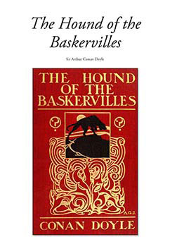 Cover for The Hound of the Baskervilles