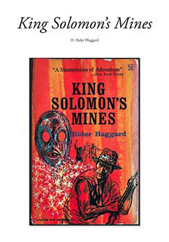 Cover for King Solomon's Mines