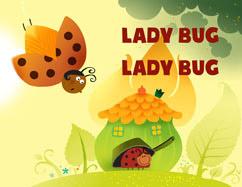 Cover for Ladybug Ladybug