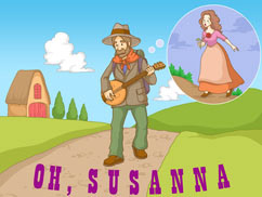 Cover for Oh, Susanna