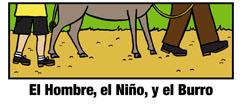 Cover for El Hombe, el Nino, y el Burro